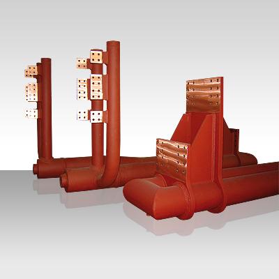 Hochstromleitungen aus Kupfer von HOMA Hochstromtechnik