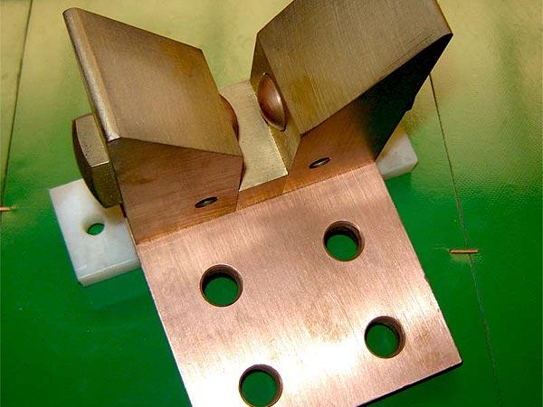 HOMA Ofenbaukomponenten für Hochstromleitungen